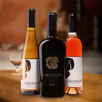 Lakewood Vineyards Dessert & Port Wines - Seneca Lake Winery
