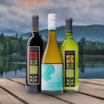 Lakewood Vineyards Everyday Enjyoable Wines - Seneca Lake Winery