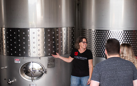 Guided Tour & Tasting: Finger Lakes Wine Tours at Lakewood Vineyards